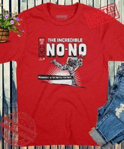 The Incredible No-Hitter T-Shirt Wade Miley Baseball