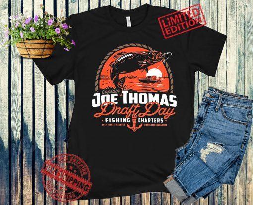 Thomas Draft Day Fishing Official T-Shirt