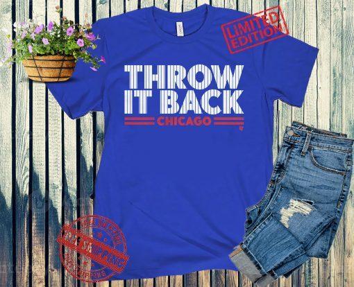 Throw It Back T-Shirt Chicago Baseball
