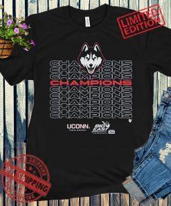 UConn Field Hockey Champs Apparel 2021 T-Shirt