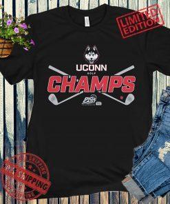 UConn Golf Champs Apparel Golf T-Shirt