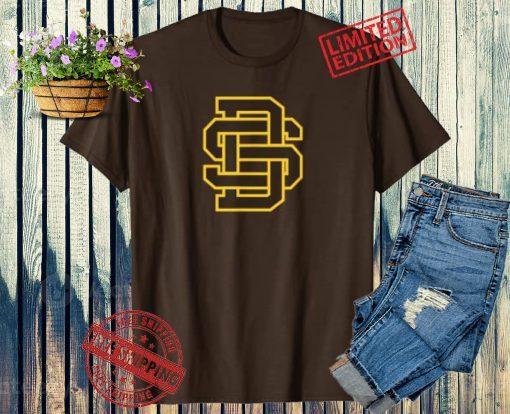 Vintage San Diego SD Home Monogram Game Day Padre Gift Unisex Shirt