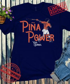 Yuli Gurriel Piña Power Shirt Houston Baseball