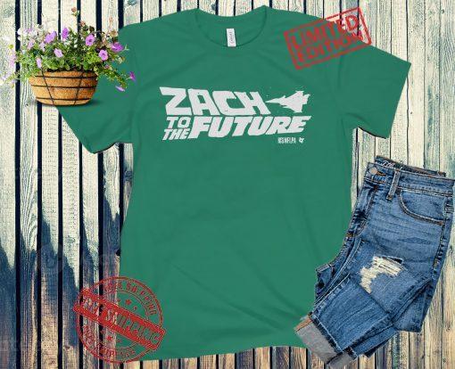 Zach to the Future Apparel Shirts, Zach Wilson