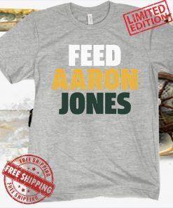 Aaron Jones Green Bay Tee Shirt