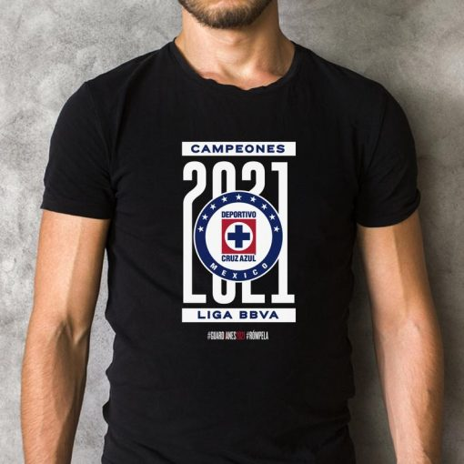 Football Cruz Azul 2021 Pullover T-Shirt