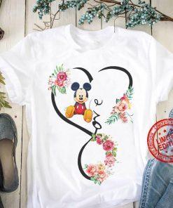 Women's Love Mickey T-Shirt
