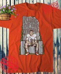 JOE BURROW KING OF THE JUNGLE TEE SHIRT