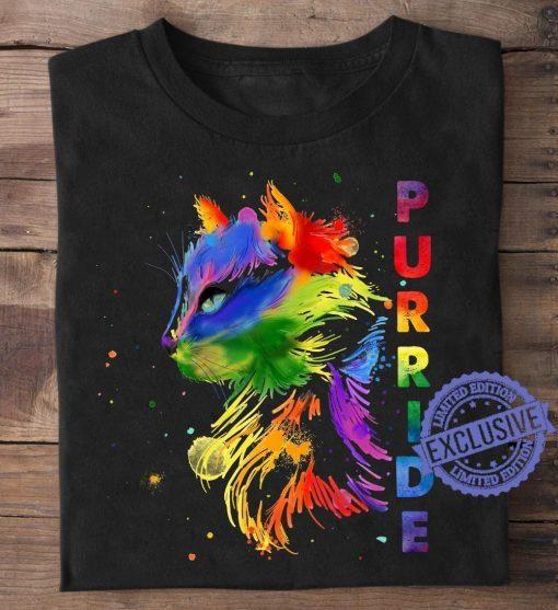 RB Cat Purride Color Shirt