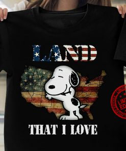 Snoopy Land That I Love Gift T-Shirt