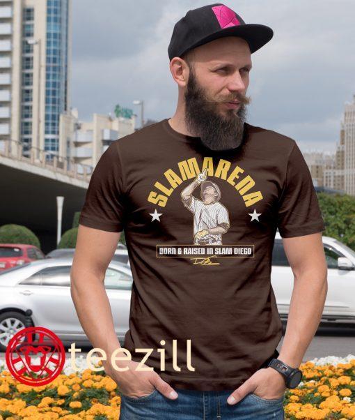 Daniel Camarena Slamarena Tee Shirt - San Diego Padres