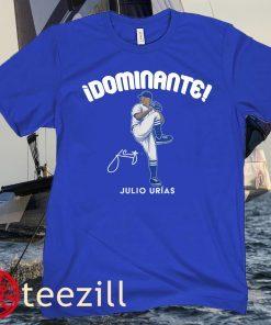 Julio Urías Dominante LA Los Angeles Tee Shirt