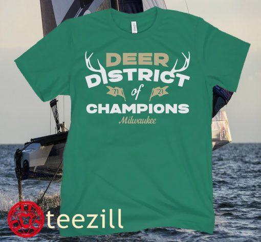 Logo MK Bucks Deer District Of Champions Shirt