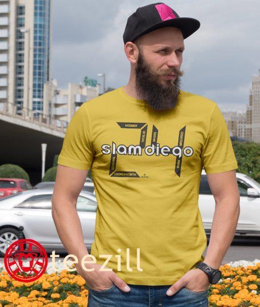 Slam Diego 24 Shirt, San Diego Baseball