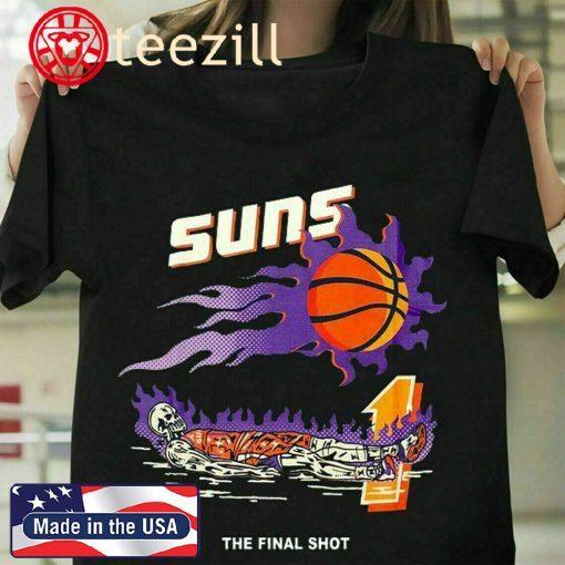 Warren Lotas Devin Booker The Final Shot Phoenix Suns Shirt, NBA Basketball Team Champ 2021, Phoenix Suns Logos